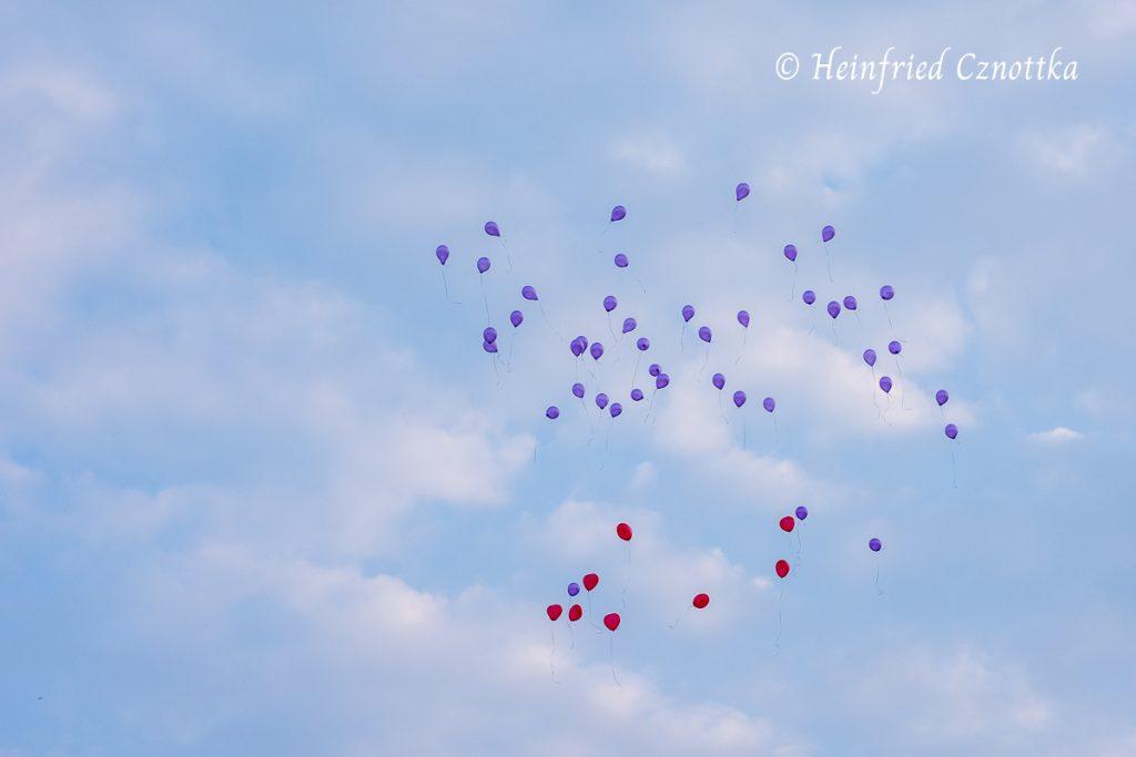 Landesgartenschau Bad Lippspringe, Luftballons am Himmel