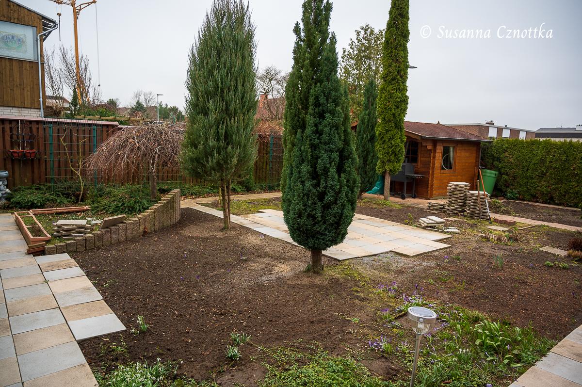 Ein Garten im Umbau