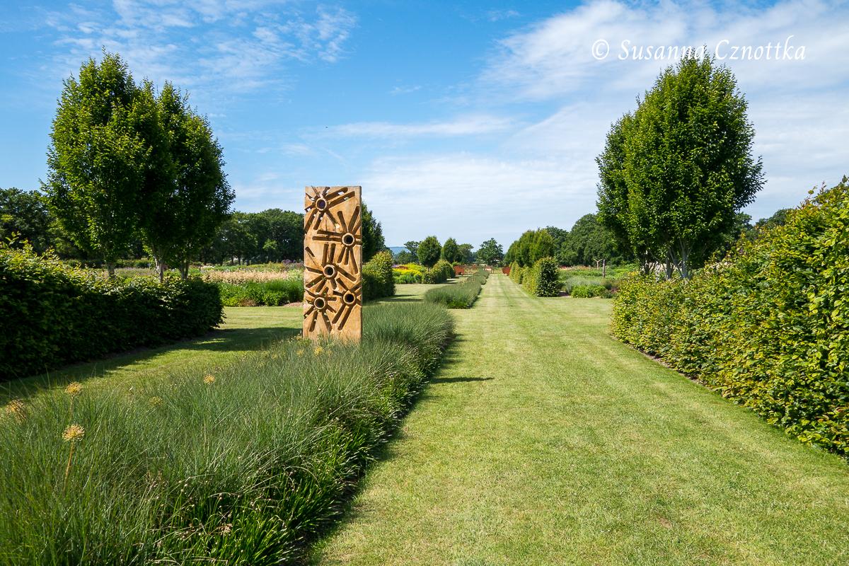 Sichtachse, Sussex Prairies Garden